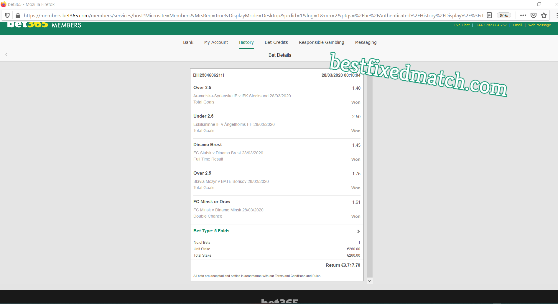free fixed matches forum
